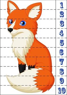 At the animals themed number sequence puzzle This page includes a number of fun puzzle exercises that can be used to teach numbers. Math Literacy, Preschool Math, Kindergarten Math, Fun Math, Math For Kids, Puzzles For Kids, Toddler Learning Activities, Preschool Activities, Colegio Ideas