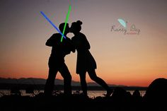 Star Wars engagement photo session! Thank you Jessica!
