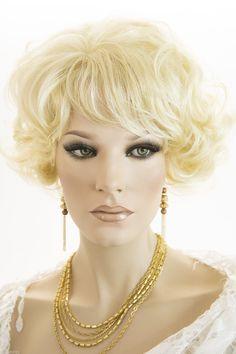 Blonde Medium Length Wavy Curly Wigs (ebay link) Pale Blonde, Wigs For Sale, Curly Wigs, Hair Goals, Health And Beauty, Street Wear, Medium, Startups, Ebay