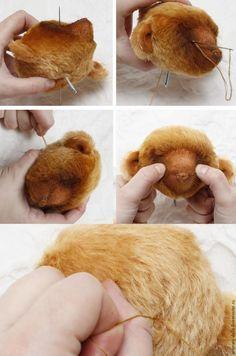 Создание интерьерного мишки Шани - Ярмарка Мастеров - ручная работа, handmade