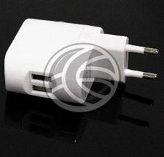 Fuente de alimentación 100-240 VAC 50/60 Hz que dispone de dos salidas USB tipo A hembra que suministra 5 VDC a 1A máximo. Ideal para conectar periféricos que se alimenten a través del puerto USB.