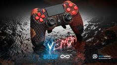 The SCUF Venom Infinity4PS for Playstation 4. Personalized Design and Function, Scuf Gaming creates handcrafted, professional controllers, and high-end gaming accessories for PC and Console. Tactical Gear for Elite Gamers.