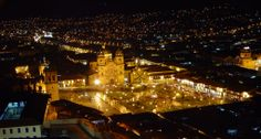 Cusco by night!! Visit us at www.cusitravel.com