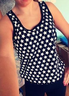 Kup mój przedmiot na #vintedpl http://www.vinted.pl/damska-odziez/koszulki-na-ramiaczkach-koszulki-bez-rekawow/10551021-koszulka-na-ramiaczkach-w-gwiazki