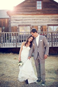 ultimate rustic wedding ~ the bride wore cowboy boots!