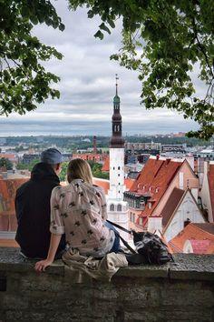 Over the city...    Tallinn Tallinn Tallinn  Estonia    www.tallinn.com