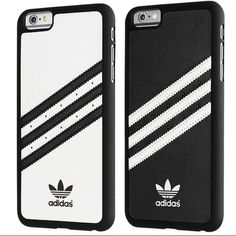 Adidas Hard Case iPhone 6 Plus/iPhone 6s Plus Black and White Adidas Accessories Phone Cases