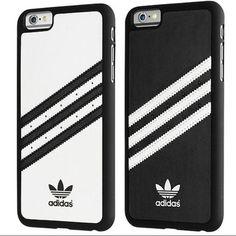 Adidas Case iPhone 6 Plus/6s Plus (PRICE FIRM) Black and White Adidas Accessories Phone Cases