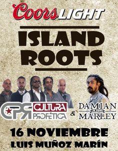 "Cultura Profética + Damian Marley en ""Island Roots"""