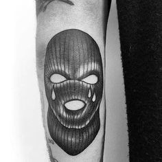 30 ski mask tattoo designs for men masked ink ideasawesome ski mask tattoos for men Ski Mask Tattoo, Kritzelei Tattoo, Tattoo Trend, Cool Forearm Tattoos, Dope Tattoos, Hand Tattoos, Tattoos For Guys, Tattoo Design Drawings, Tattoo Sketches