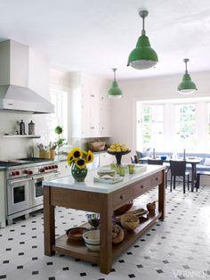 kuchnia - podłoga
