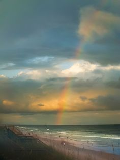 #Rainbow #Beach by Karen Wiles #LookTowardstheSky