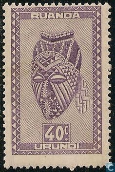 1948 Ruanda-Urundi - Indigenous Art