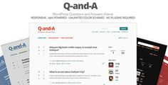 Q-and-A, WP Questions and Answers (Miscellaneous)