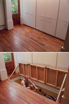 1000 images about clever storage on pinterest hidden for Chuck s hardwood flooring