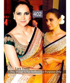 Bollywood Designer Lara Yellow Color Bridal Saree