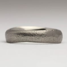 Our beautiful range of handmade sandcast rings are cast in beach sand, giving each piece a unique organic texture. They can be made from silver, gold or any other precious metal. Handmade Engagement Rings, Handmade Rings, Handmade Jewelry, Unique Jewelry, Bespoke Jewellery, Contemporary Jewellery, Wood Rings, Jewelry Companies, Rings For Men