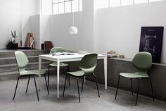 Florence Green Dining & Study Chair | Minimalist Furniture Designs | BoConcept Sydney