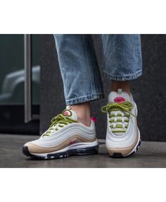 pretty nice 78474 01c1c Buy Nike Air Max 97 Silver Bullet, Black, Gold Trainers For Mens   Womens ·  Black Trainer ShoesGold ...