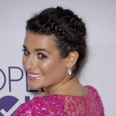 Lea Michele long hairstyles for womens 2015 Wallpaper