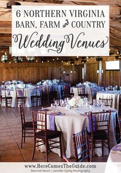 Be An Outdoor Romantic! 6 Northern Virginia Barn, Farm and Country Wedding Venues You'll Love | Here Comes The Guide