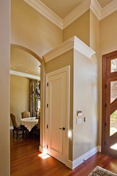 Crown Molding Design Pictures Remodel Decor And Ideas Kitchen Door