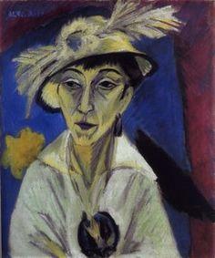 Ernst Ludwig #Kirchner