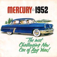 1952 Mercury Montery Special Custom 4-Door Sedan