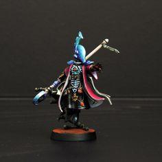"""""""Eldar Spiritseer conversion, by Morback"""" Very cool."""