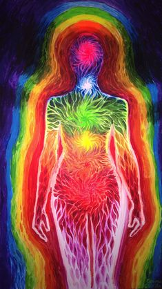 Chakra energy and aura by CORinAZONe