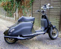 My classic motorcycle 1945 motobecane d45 motos for Garage peugeot larche