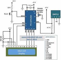 sensor de temperatura y humedad dht11 arduino pic etc