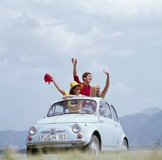 1959 - More than a family car, the Fiat 500 was—and is—a fun car.