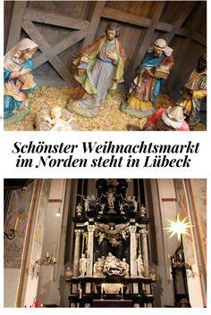 Warum dieser Weihnachtsmarkt der schönste für mich im Norden ist? Der Kunsthandwerker Weihnachtsmarkt im Heiligen  Geist Hospital oder der Weihnachtsmarkt in der Petri-Kirche sind in der historischen Kulisse atemberaubend.