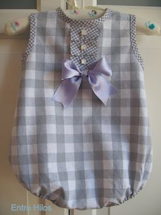 I know some little girl babies in my life who need this. Elizabeth Allen, Lisa Cannariato, I'm looking at you! Sewing For Kids, Baby Sewing, Toddler Outfits, Boy Outfits, Cute Rompers, Little Girl Dresses, Baby Patterns, Kids Wear, Baby Dress