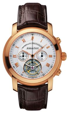 Audemars Piguet Jules Audemars Tourbillon Chronograph Mens Watch Model: 26010OR.OO.D088CR.01