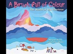 (Pajama Press) A Brush Full of Colour: The World of Ted Harrison. A picture book biography by Margriet Ruurs and Katherine Gibson Kindergarten Art Activities, Color Activities, In Kindergarten, Preschool, Thing 1, Inuit Art, Canadian Artists, Native Canadian, Winter Art