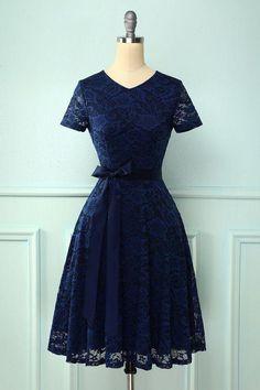 Navy Short Sleeves Lace Homecoming Dress Formal Dresses With Sleeves, Short Sleeve Dresses, Short Sleeves, Lace Dress, Dress Up, Lace Homecoming Dresses, Navy Lace, Pink Lace, Mermaid Dresses