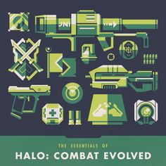 Justin Mezzell - Halo Combat Evolved