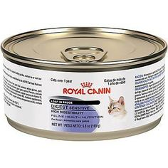 Royal Canin Feline Health Nutrition Loaf In Sauce  Sensitive Digest  Pork  58 Ounce  24 Count *** Continue to the product at the image link.