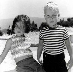 laprincessecaroline:  Princess Caroline and Prince Albert of Monaco