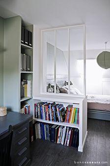 bonnesoeurs decoration bureau 03 suite parentale espace bureau dans une chambre - Espace Bureau Dans Chambre Parentale