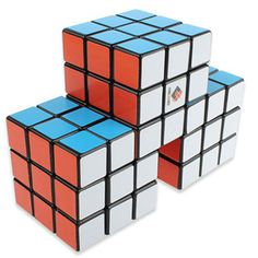 CubeTwist Triple Conjoined 3x3x3 Magic Cube | CubeTwist CTC333B