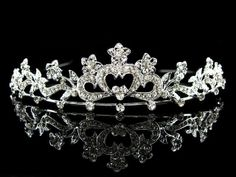 Beautiful Austian crystal tiara see our facebook page floweringdreams for more details.come like us and keep up to date with new items added