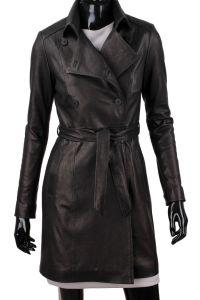Płaszcz skórzany damski DORJAN WIA045 Jackets For Women, Shirt Dress, Leather Jackets, Coat, Shirts, Dresses, Fashion, Fotografia, Cardigan Sweaters For Women