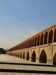 A 500 years old bridge in Isfahan, Iran