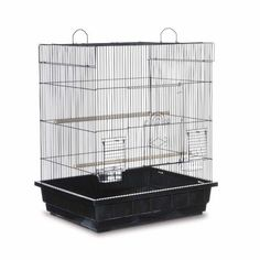 Prevue Pet Keet Tiel Square Roof Bird Cage Multicolor Parakeet Cage Cockatiel Cage Parakeet Bird