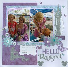 Hello Rapunzel - Scrapbook.com