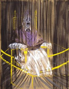 Study After Velasquez's Portrait of Pope Innocent X by Francis Bacon