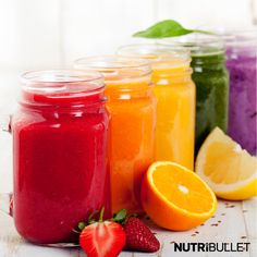 Prepare to blast the rainbow with Nutribullet!  Keep an eye out for our smoothie colour guides...